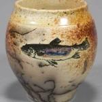 """""""Ferric Fish"""" Vase"""