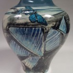 """Mother"" Vase back"